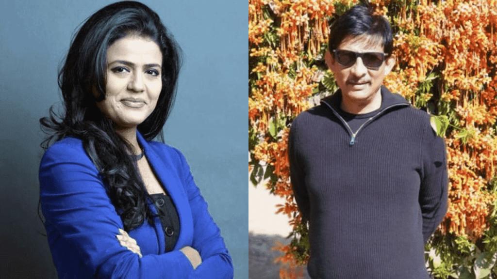 Anjana Om Kashyap and her husband